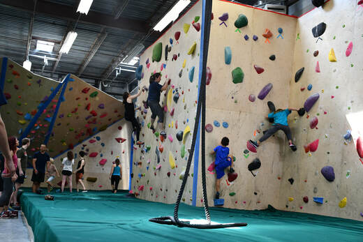 The Boulder Yard - Indoor rock climbing gym specializing in